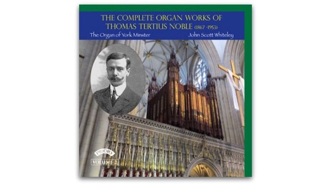 cd PRCD 1129 thomas tertius noble organ works