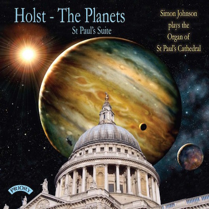 prcd 1144 holst the planets simon johnson st paul's cathedral london