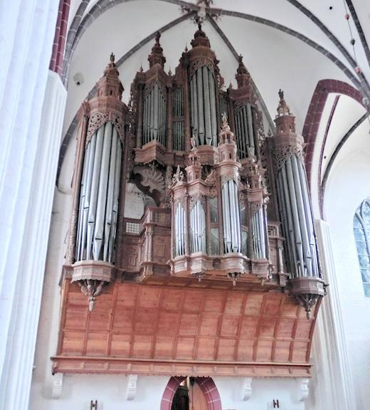 Scherer-orgel St. Stephanskirche Tangermuende