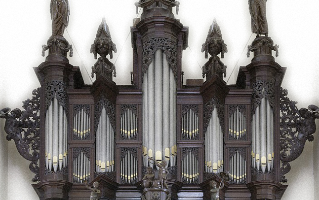 orgel der aa-kerk groningen