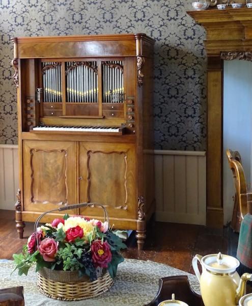 orgel salon borg verhildersum leens