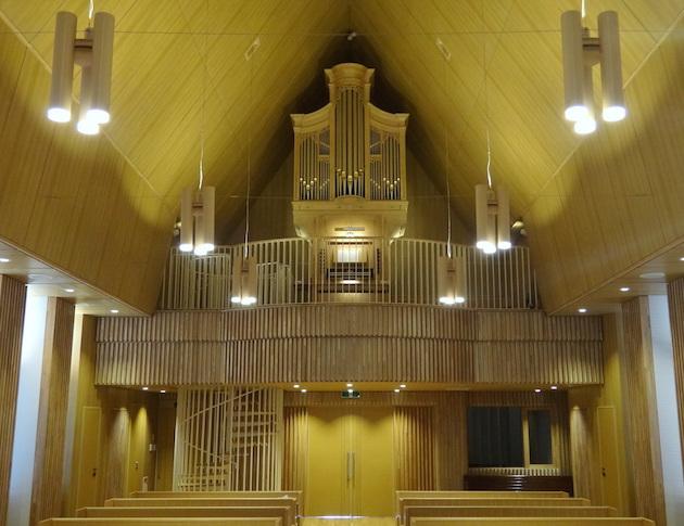 sendai nagamachi church reil orgel organ