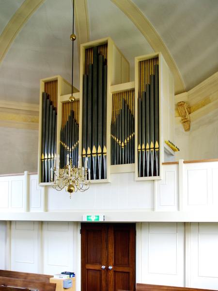 Van Vulpen orgel Protestantse Kerk Bergeijk