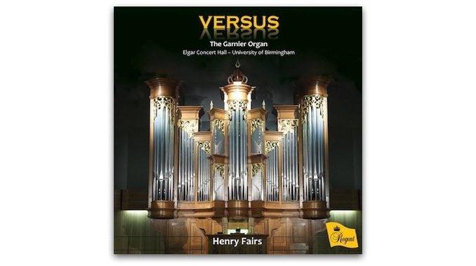 cd Versus Garnier Organ Birmingham University REGCD516