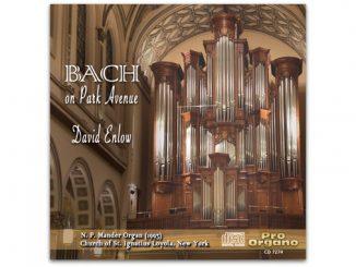 bach on park avenue pro organo cd 7274