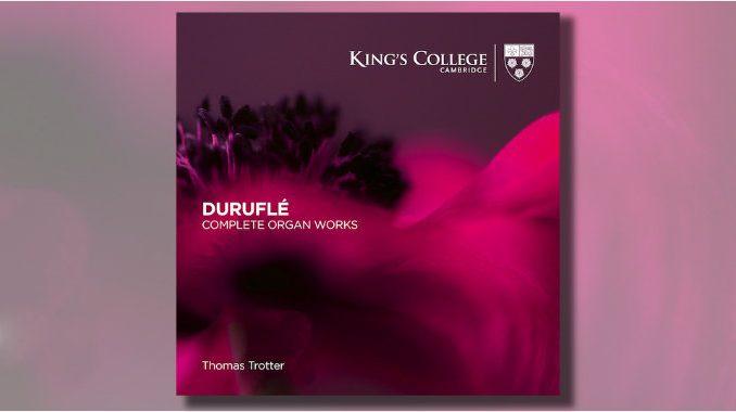 cd duruflé organ works thomas trotter