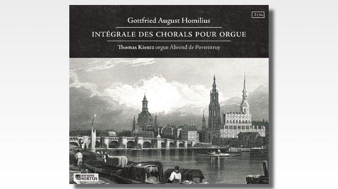 cd homilius integrale chorals orgue
