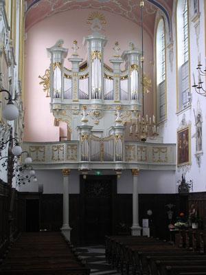 orgel caroluskapel roermond