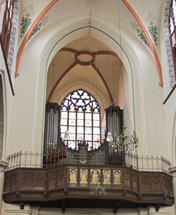 orgel sint martinuskerk arnhem