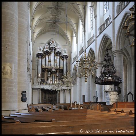 Kam-orgel Grote Kerk Dordrecht