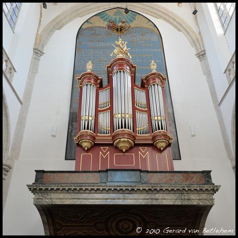 Kam-orgel Grote Kerk Brielle