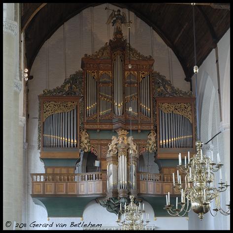 orgel grote kerk schiedam