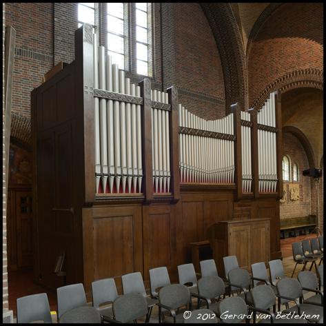 steinmeyer-orgel koepelkerk mariakerk bussum