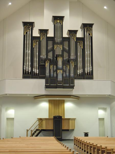 orgel hersteld hervormde kerk genemuiden