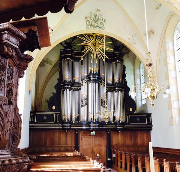 middelstum hippolytuskerk van oeckelen -orgel