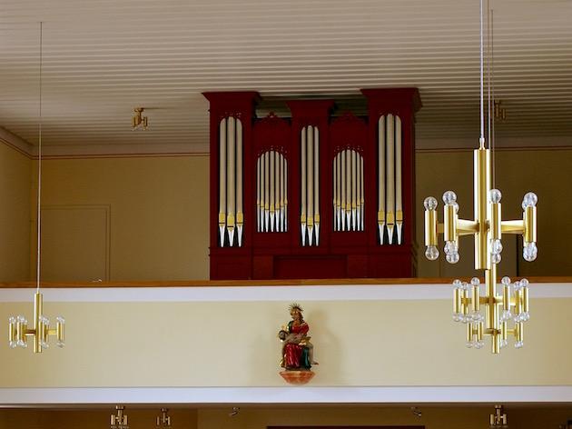 orgel Sankt Johannes der Taufer Saig