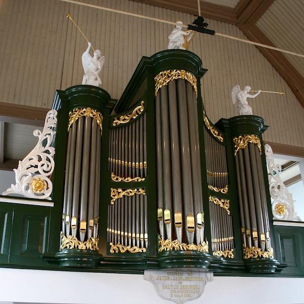 orgel hervormde kerk zuidwolde drenthe