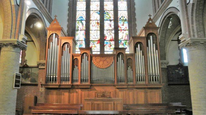orgel petrus en pauluskerk leidschendam