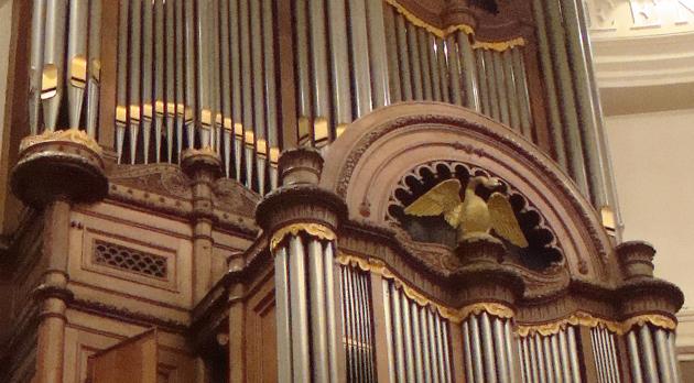 Bätz-orgel Ronde Lutherse Kerk Amsterdam