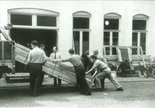 transport orgelonderdelen verschueren orgelbouw heythuysen