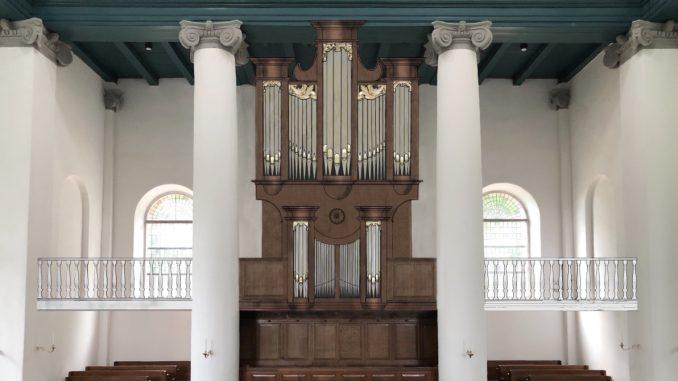 orgel koepelkerk renswoude