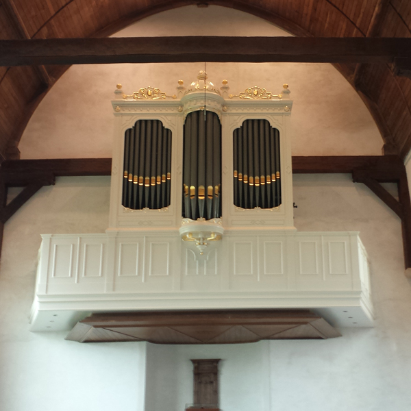 witte orgel catharinakerk zoutelande